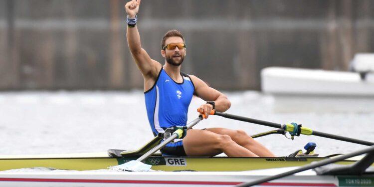 Ο Στέφανος Ντούσκος κατέκτησε το χρυσό μετάλλιο στο μονό σκιφ της κωπηλασίας στους Ολυμπιακούς Αγώνες